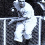Al Gionfriddo after World Series catch.