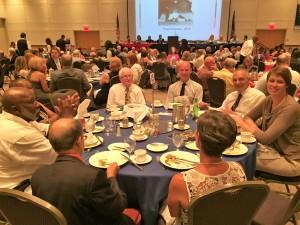 Banquet crowd 7