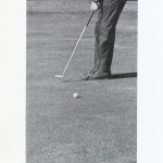 Bill Crooks putts for the University of Miami.