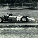 Chris Gleason in the No. 0 Lotus Formula Ford in 1969 or 1970.