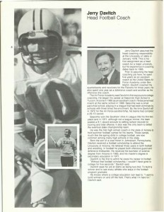 Jerry Davitch, University of Idaho football media guide.