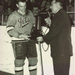 Dick Roberge receives EHL award