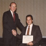 Don Rullman, right, earned a special achievement award from the Commonwealth of Pennsylvania.