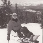 Don Rullman on the ski slope.