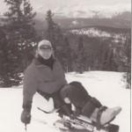 Don Rullman on the ski slope.