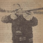 Fred Soisson takes aim