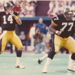 Carlton Haselrig was an All-Pro offensive lineman with the Pittsburgh Steelers.