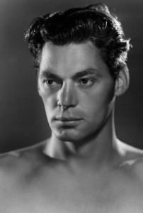 Johnny Weissmuller starred as Tarzan in films
