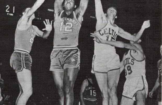Maurice Stokes Royals vs Celtics NBA