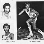 Cincinnati Royals NBA collage.