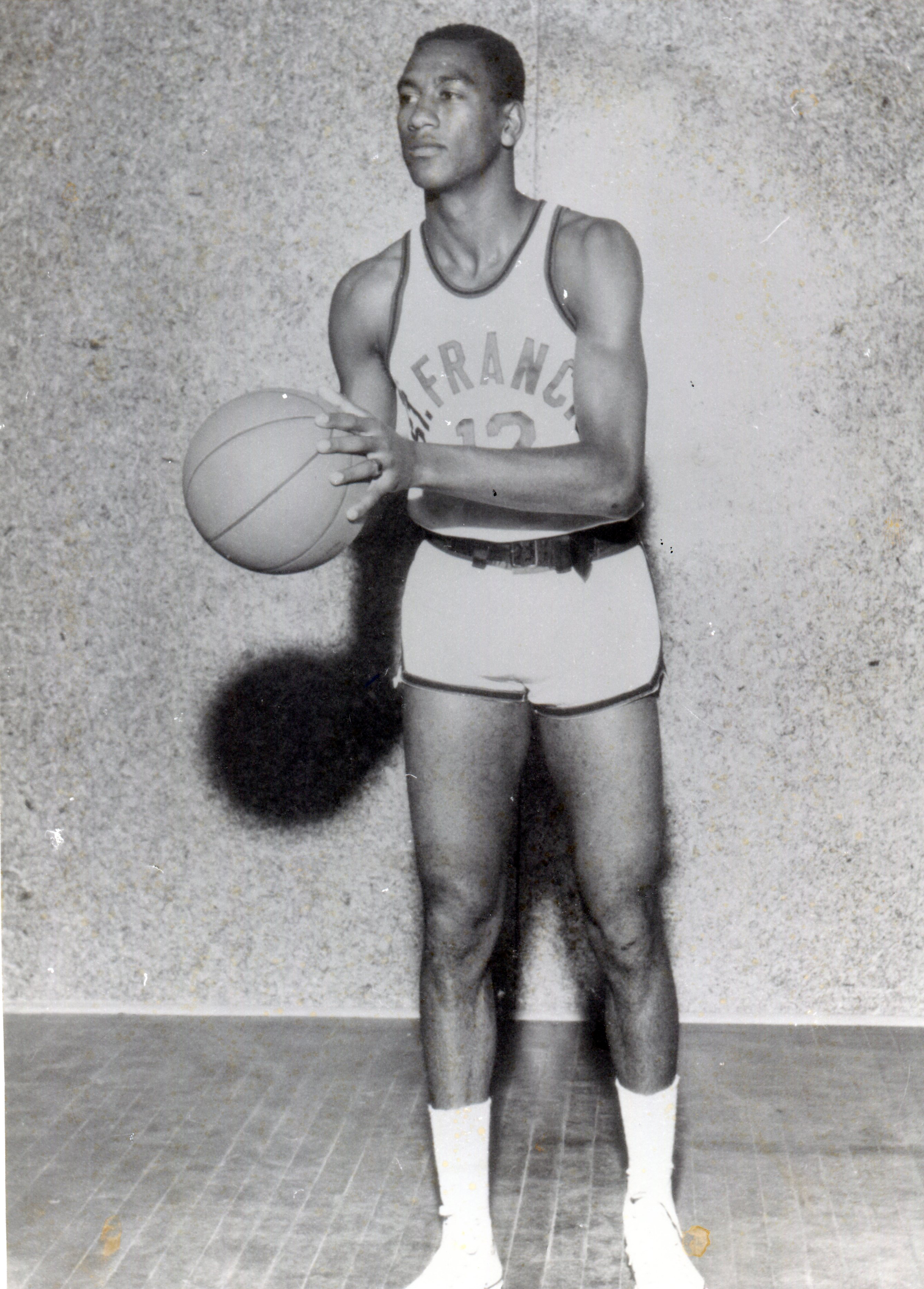 Norm Van Lier St Francis posed shot Cambria County Sports Hall