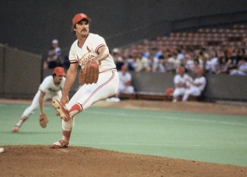 Pete Vuckovich Cardinals action