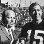 Ray Scott and legendary Packers QB Bart Starr