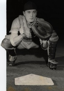 Tommy Yewcic Detroit Tigers catcher