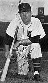 Detroit Tigers autographed photo