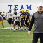 Tom Bradley, West Virginia University senior associate head coach.