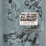 1984 CCSHOF Program cover