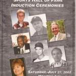 2002 CCSHOF Program cover