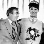 Pens GM Ed Johnston drafted Mario Lemieux first overall.