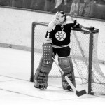 Ed Johnston won two Stanley Cups with the Boston Bruins.