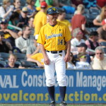 Randy Mazey WVU third base coach.