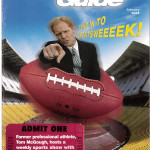 Tom McGough SportsWeek magazine cover.