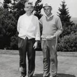 Art Wall Jr. and John Goettlicher during 1963 Sunnehanna Amateur