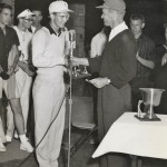 John Goettlicher presents Jaycees Trophy in 1963 at Sunnehanna.