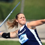 Karlee McQuillen at Penn State University in the 2008 NCAA Track and Field championship