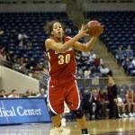 Samantha Pollino grabs a rebound