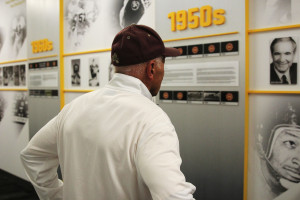 Fran Urban looks at 1950s ASU with Kush photo 2017