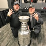 Stewart and Heinze 4 Stanley Cup salute 2
