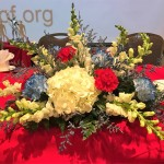 Flowers and trophies