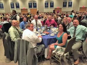 Banquet crowd 2