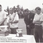 Bill Price during the 1969 Sunnehanna Amateur trophy presentation. The photo appeared in the Sunnehanna Amateur Tournament for Champions 2011 program.
