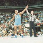 Carlton Haselrig wins NCAA national championship.