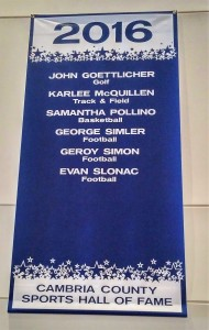 Banner for Class of 2016