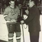 Dick Roberge receives EHL award