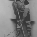 Don Hall, Johnstown Jets captain.