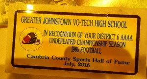 Johnstown Vo-Tech 1986 champs