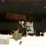 Jack Ham speaks at 1990 hall of fame banquet