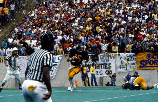Jeff Hostetler vs Pitt2 1983