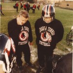 Jerry Davitch, left, coach of Conemaugh Township High School.