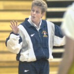 Jodi Gault, Pitt-Johnstown women's basketball coach.