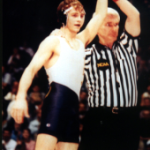 Jody Strittmatter won two NCAA Division II national championships at Pitt-Johnstown.
