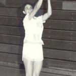Maureen Latterner-Brown jump shot.