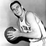 Len Chappell with New York Knicks