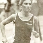 Patty Bradley-Marino running for Villanova.