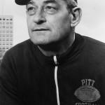 Pitt football coach Steve Petro