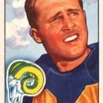 Tom Kalmanir 1951 Bowman Football Card